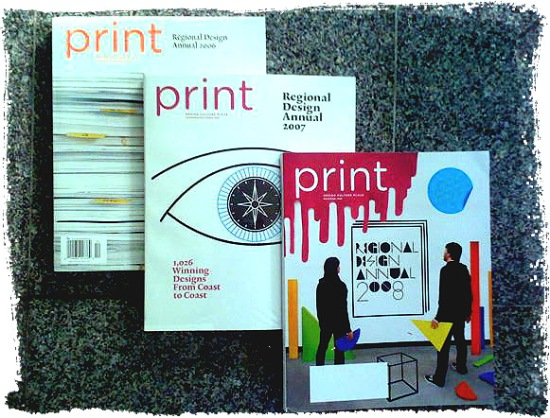 Print Regional Design Annual 2006, 2007, 2008