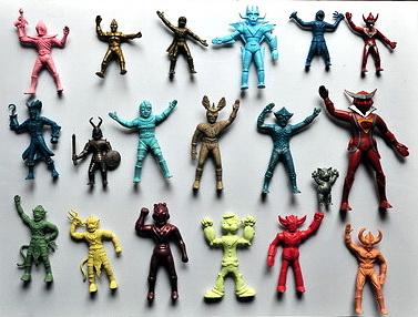 plastic miniature toy (Japanese Hero)