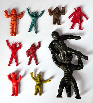 plastic miniature toy - brand ANT