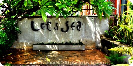 ร้านเล็ทส์ซี Let's Sea ติดริมหาดหัวหิน