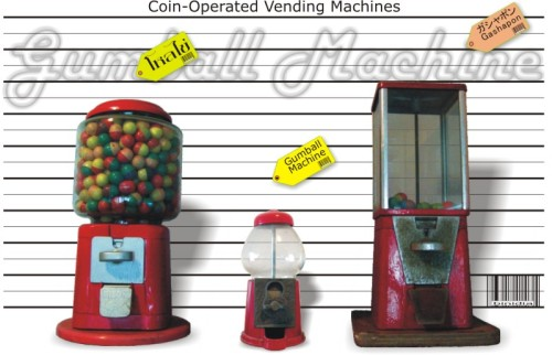 coin-operated toy vending machines