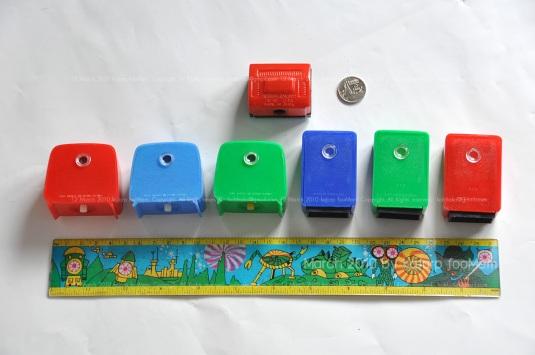 pencil sharpener & T.V. Picture Viewer