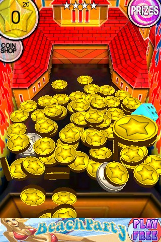Game: Coin Dozer from AppStore