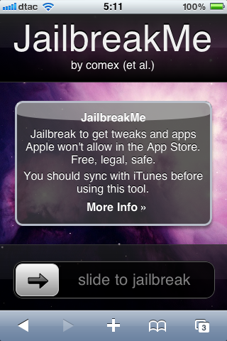 JailBreakMe 2.0 by Comex