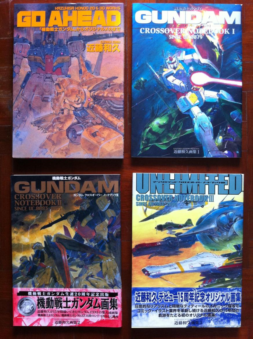 Go Ahead & Gundam Cross Over NoteBook 1, 2, 3