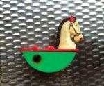 กบเหลาดินสอ, ม้าโยก, pencil sharpener, rocking horse