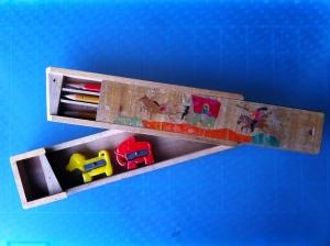 กล่องดินสอไม้