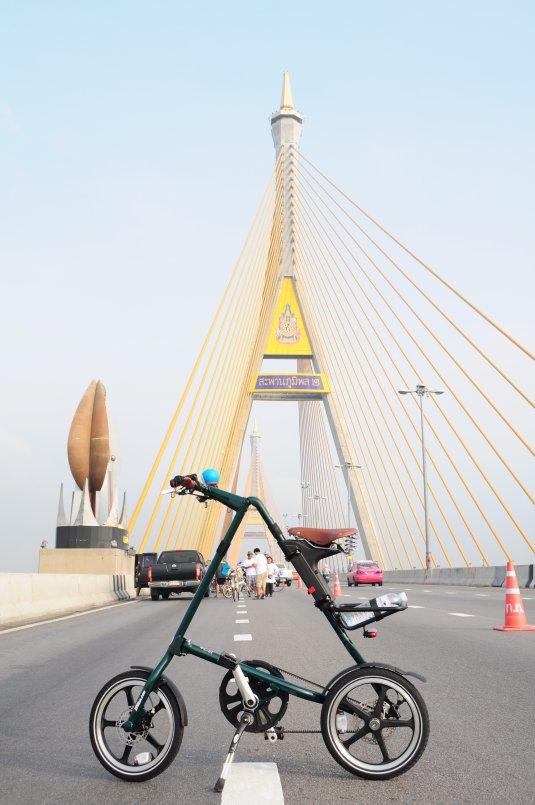 สไตรด้า บนสะพานภูมิพล