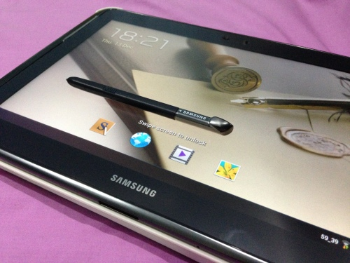 My Galaxy Note 10.1
