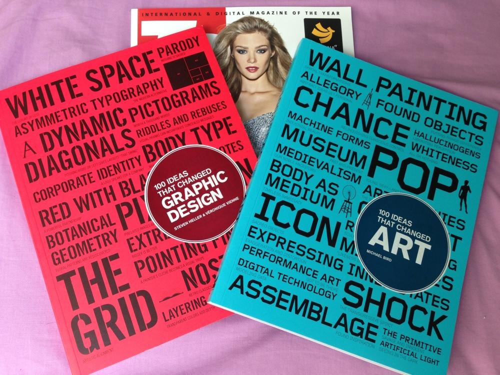 ร้อยแนวคิดพลิกโฉมงานออกแบบกราฟฟิค และ ศิลปะ (100 ideas that changed Graphic Design & ART)