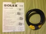 solex cable lock