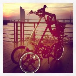 Strida @ sunset Rama 3