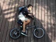 ถ่ายกับจักรยาน Dahon