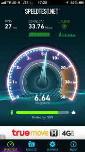 upload speed