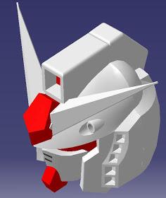 ที่มาของการออกแบบ หัวกันดั้ม หัวซากุ (Gundam's Head, Zaku's Head design inspiration) (3/6)