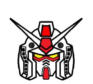 Gundam's front Head